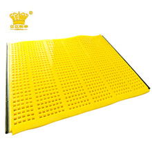 Flexible Tensioned polyurethane screen panels(with hooks)