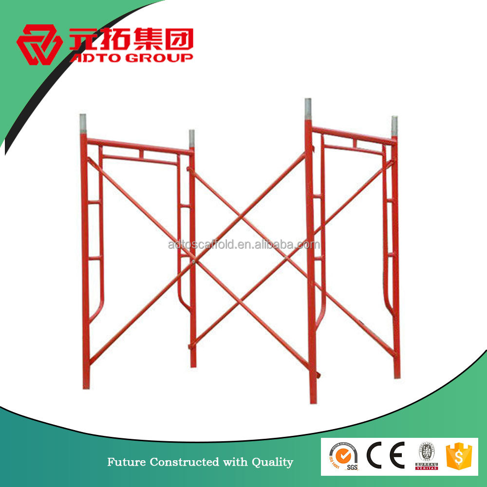 High Quality American Style H Frame Scaffolding Maid In China For Construction