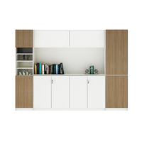 Modern storage wooden filing cabinet office wood file cabinet