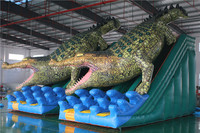Chinese wholesale giant inflatable water slide fiberglass water slide tubes for sale