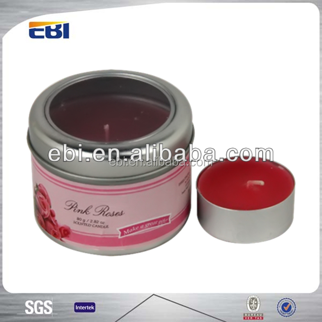 Wholesale Aluminum candle containers with customized design