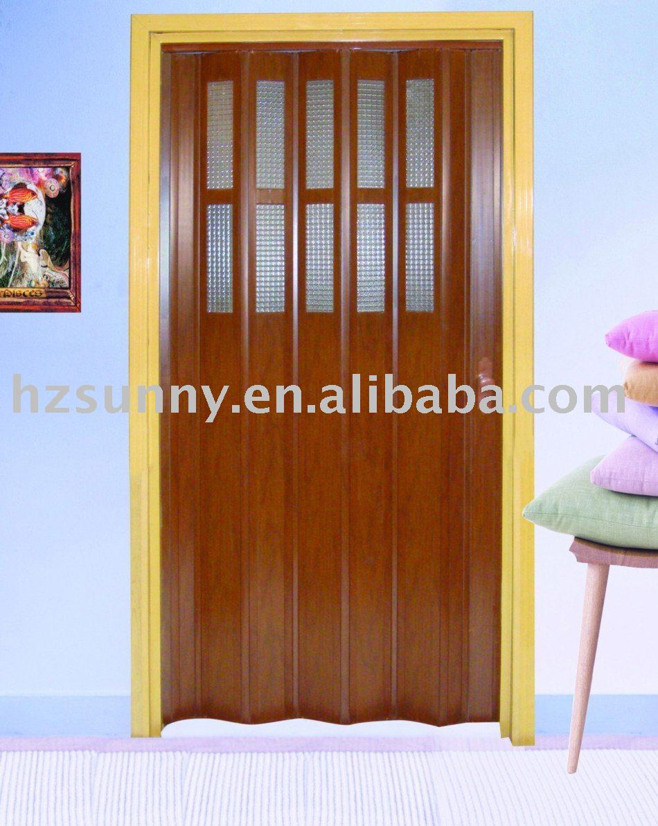 low price pvc accordion door