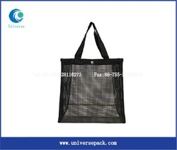 custom tote leno mesh bag wholesale