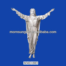 Spiritual Yard & Garden Products Jesus Sacred Heart Wall Statue