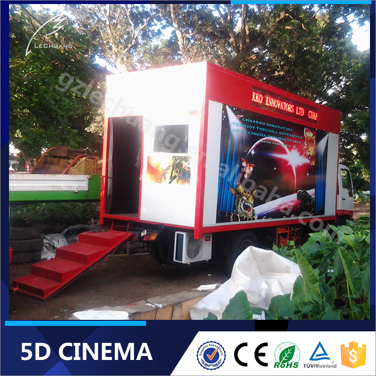 Great Fun Truck 5D Cinema System On Car Mobile 5D 6D 7D 9D XD Cinema Theater Avatar