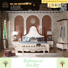 Civi new design colourful country style wood bed