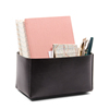 Large Black Leather Desk Organizer to Have a Clean and Organized Desk