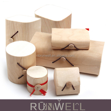 China factory RUNWELL wholesale cheap customized wooden tea box white