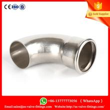 SS304 press-fittings 45 degree elbow DVGW