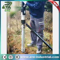 electric ground screw solar pile driver