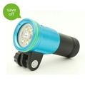 Wholesale Price Underwater Waterproof Torch For Diving Photo / Video