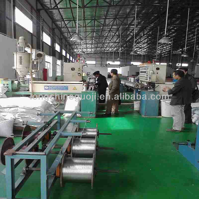 Plastic PVC/PE Wire/Cable Extrusions Machine