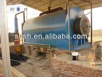 waste rubber refining machine with high oil yield and CE ISO, and BV by Shangqiu Sihai