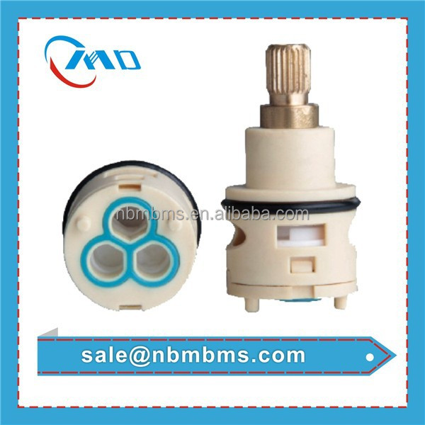 Brass Copper Lever 22mm Diverter Faucet Brass Ceramic Disc Cartridge