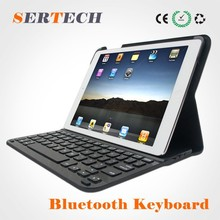 Metal Mini wireless bluetooth keyboard for ipad 5 factory manufacturer/ bluetooth 3.0/4.0 keyboard