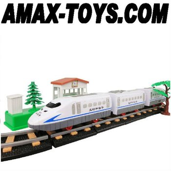 ect-02120 electric powered track train children track train assembling track train children toys