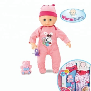 Dress up games moving eyes baby korean fashion dolls with sounds IC