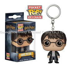 New Harry Potter funko pop key chain,Funko Pocket Pop key chain,Anime Figure Pop keychain