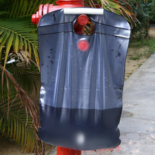 20L PVC Portable Solar Self Heating Camping Shower Bag