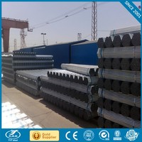 black iron pipe dimensions 50mm galvanized steel pipe