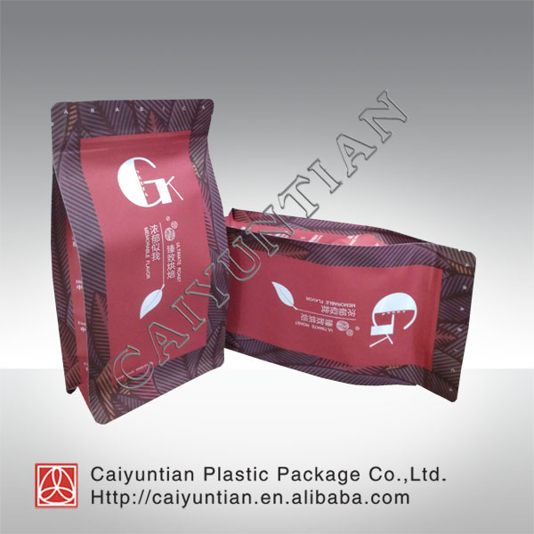 New products hot selling kraft paper coffee bag food grade whey protein package