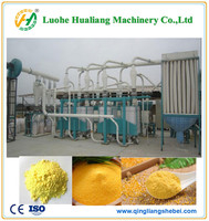 full automatic maize corn flour milling machine / maize grits machine
