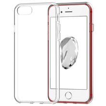 For iphone 7 clear tpu case high quality crystal transparent phone case back cover