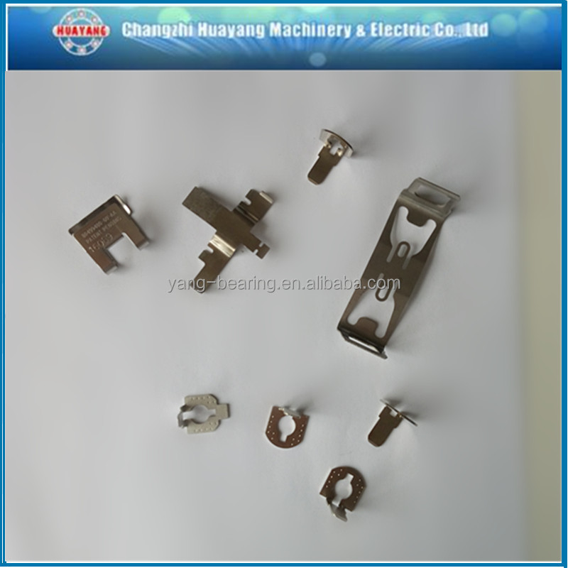 Chinese Manufacturer Supply heavy duty strong metal flat spring steel clip