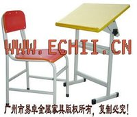 Good quality folding desk and chair