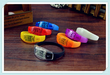 Voice Activated Sound Control Led Flashing Bracelet
