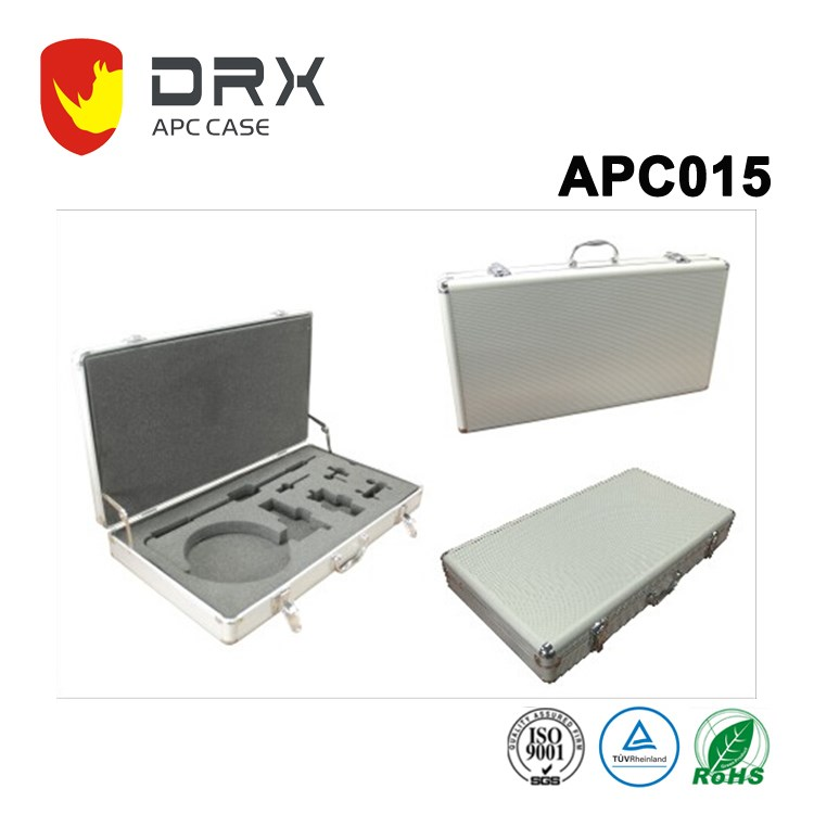 Hot sale aluminum tool socket set case with handle