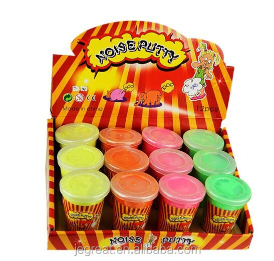 putty slime funny gag gift birthday party favours set Fart noise putty toy