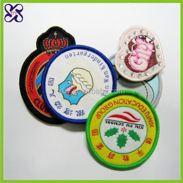 Customized emblems for jackets designer handbag emblems
