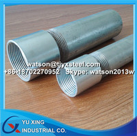 Threaded galvanized pipe 1 1/4 inch