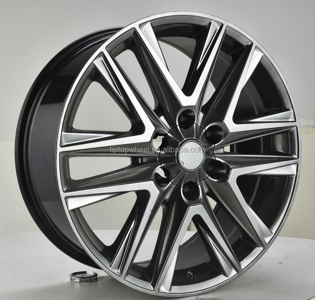 2000 design fit for japanese car <strong>wheels</strong> 20 inch hyper silver 4x4 rims casting <strong>wheel</strong> OEM available