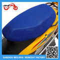 Brand new blue hot sale heatproof motorcycle seat cover