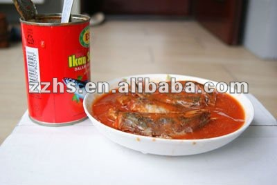 Canned Sardines in Tomato Sauce Canned Fish Canned Sea Food