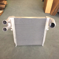 High quality aluminum core intercooler for Hino Ranger J08C E13C