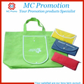 Wholesale cheap foldable shopping bag with snap closure