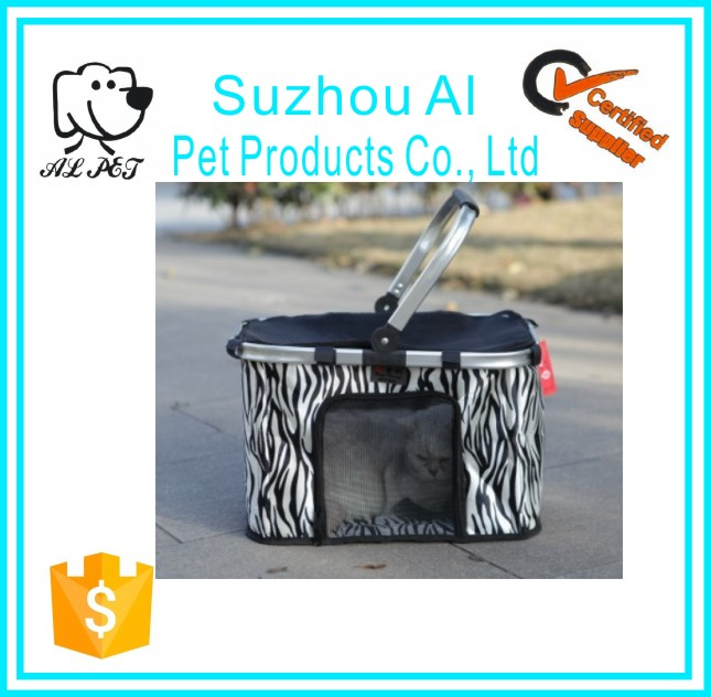 Pet Supplies Travel Carrier Bag Outdoor Hangbag Aluminum Dog Trolley