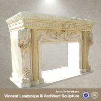 Freestanding Fireplaces,Indoor Freestanding Fireplace Mantel,Free Standing Fireplace VFM-NB100C