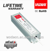 60W 12V 5A waterproof led driver with CE,ROHS approved