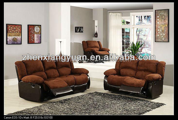 2016 Living products home furniture sofa recelining sofa microfiber sofa sets for home