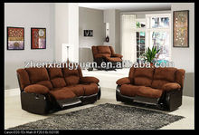 2017 Living products home furniture sofa recelining sofa microfiber sofa sets for home