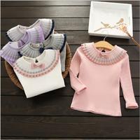 comfortable plain spring children t-shirt pattern shirts for children