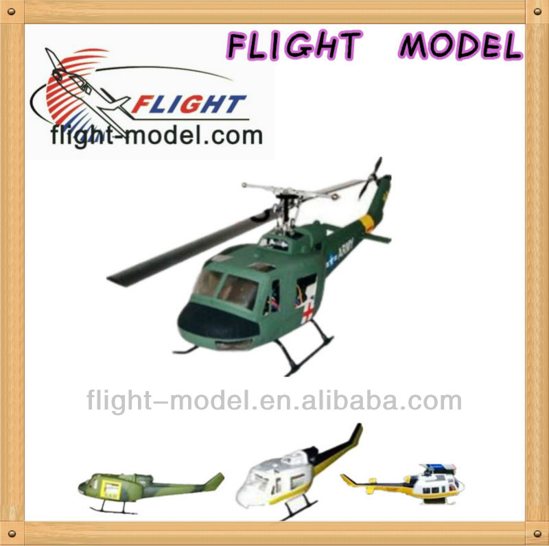 Helicopter toys Hot UH-1 450 size RC Helicopter Fuselage