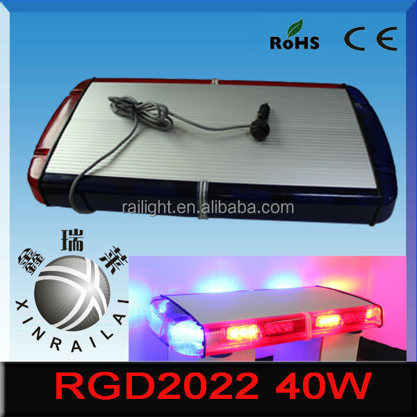 hot sale tractors rotating led warning light 12v 40w RGD2022 for emergency car heavy duty truck