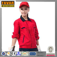100% Cotton Uniform for Food Industry Engineering Uniform Workwear