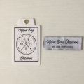 wholesale cheap high quality woven label for clothing