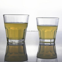 High quality octagon cup 100ml/160ml press drinking beer glass/Shot Glasses Personalized/drinking vodka shot glass cup
